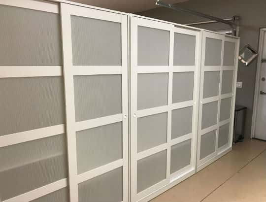 Sliding door partition-min