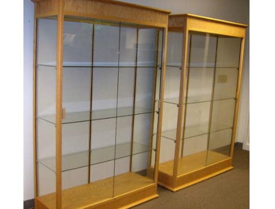 display cabinets Assembly